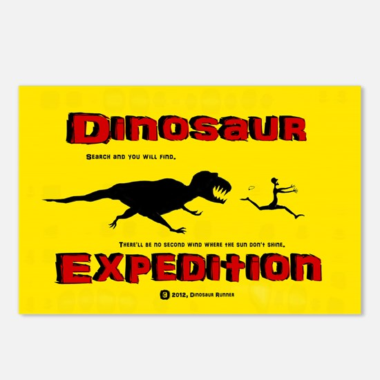 Dinosaur Expedition Runner Postcards (Package of 8
