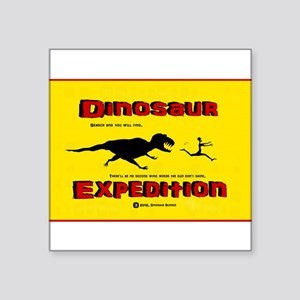Dinosaur Expedition Runner Sticker