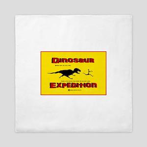 Dinosaur Expedition Runner Queen Duvet