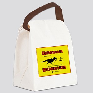 Dinosaur Expedition Runner Canvas Lunch Bag