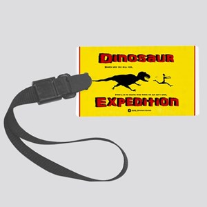 Dinosaur Expedition Runner Large Luggage Tag
