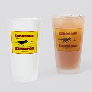 Dinosaur Expedition Runner Drinking Glass