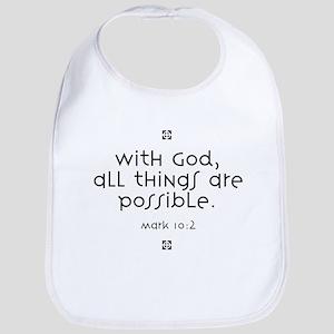With God Bib