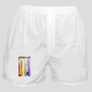 Spanish (Orgullo) Pride Rainbow Boxer Shorts