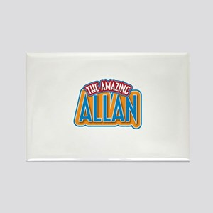 The Amazing Allan Rectangle Magnet