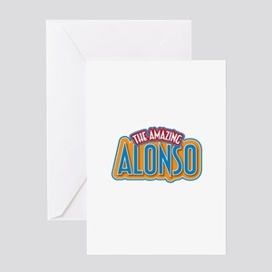 The Amazing Alonso Greeting Card