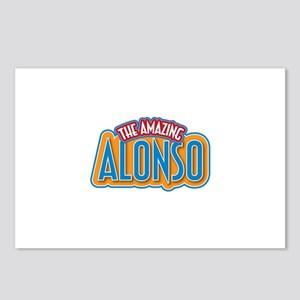 The Amazing Alonso Postcards (Package of 8)