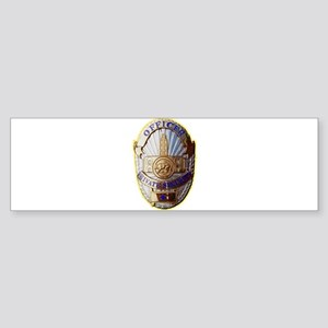 Private Security Officer Bumper Sticker