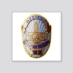 Private Security Officer Sticker