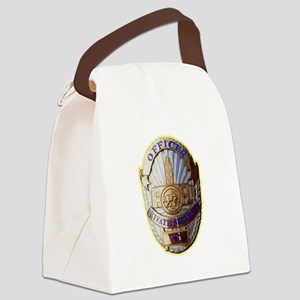 Private Security Officer Canvas Lunch Bag