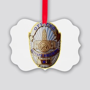 Private Security Officer Ornament