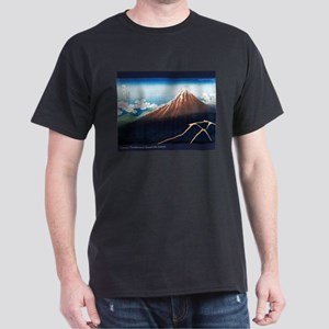 Thunderstorm Japanese Print A Dark T-Shirt