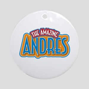 The Amazing Andres Ornament (Round)