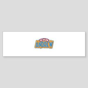 The Amazing Andrew Bumper Sticker