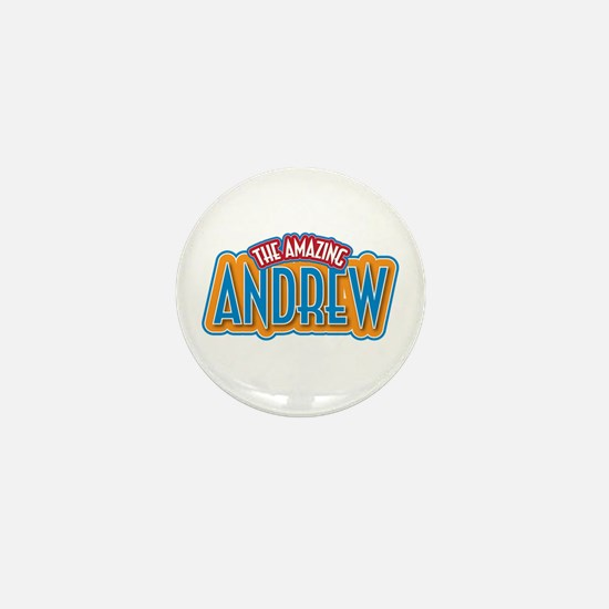 The Amazing Andrew Mini Button
