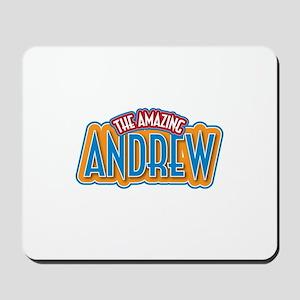 The Amazing Andrew Mousepad