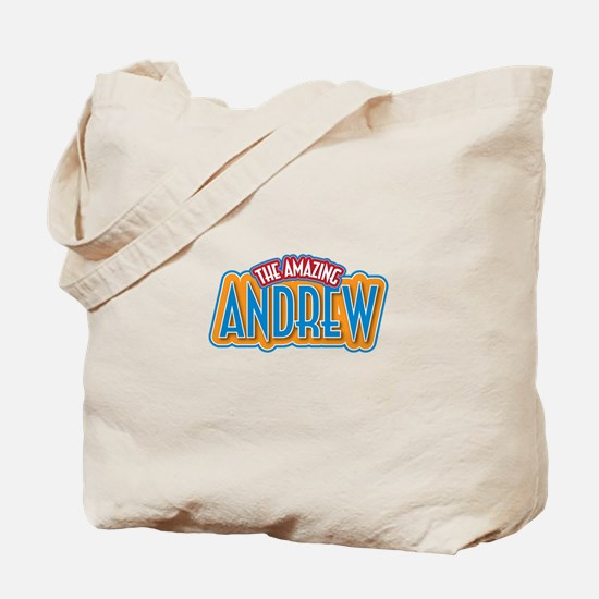 The Amazing Andrew Tote Bag