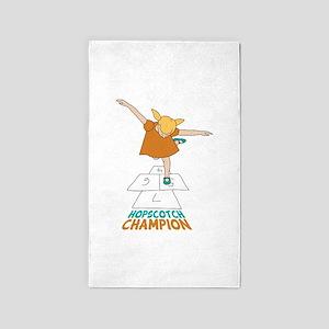 Hopscotch Champion 3'x5' Area Rug