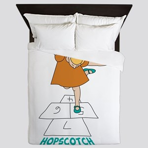 Hopscotch Champion Queen Duvet