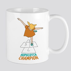 Hopscotch Champion Mug