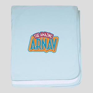 The Amazing Arnav baby blanket