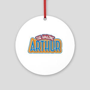 The Amazing Arthur Ornament (Round)