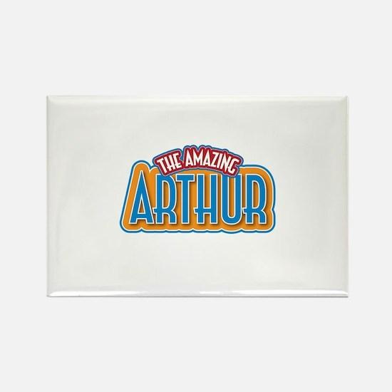 The Amazing Arthur Rectangle Magnet
