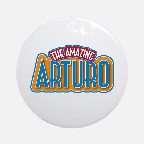 The Amazing Arturo Ornament (Round)