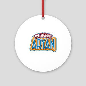 The Amazing Aryan Ornament (Round)