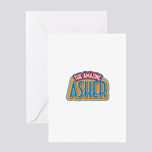 The Amazing Asher Greeting Card