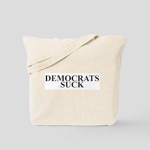 Democrats Suck Tote Bag