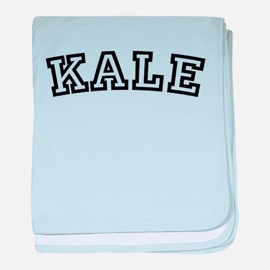 Kale baby blanket
