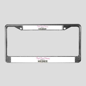 Forget Prince Charming.. I ha License Plate Frame