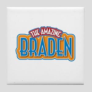 The Amazing Braden Tile Coaster
