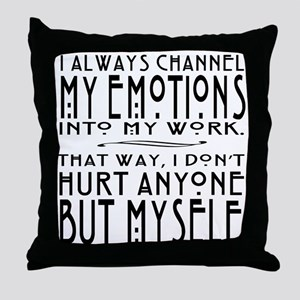 Cinna Quote Hunger Games Throw Pillow