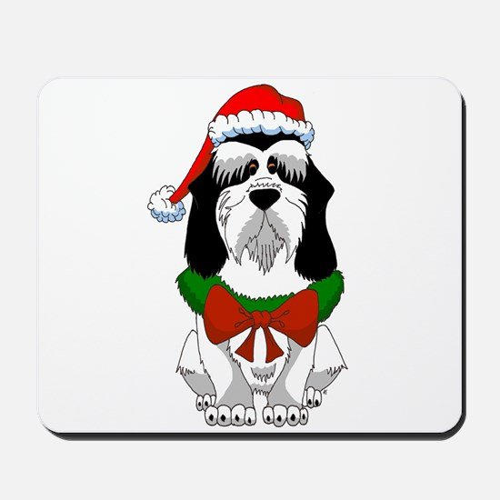 PBGV Christmas Mousepad