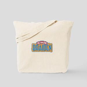 The Amazing Braiden Tote Bag