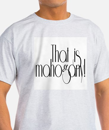 That is Mahogany Effie Hunger Games T-Shirt
