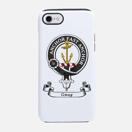 Badge-Gray [Perth] iPhone 7 Tough Case