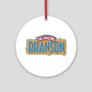 The Amazing Branson Ornament (Round)