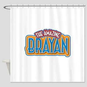 The Amazing Brayan Shower Curtain