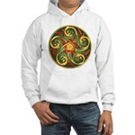 Celtic Pentacle Spiral Hooded Sweatshirt