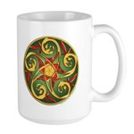 Celtic Pentacle Spiral Large Mug