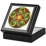 Celtic Pentacle Spiral Keepsake Box