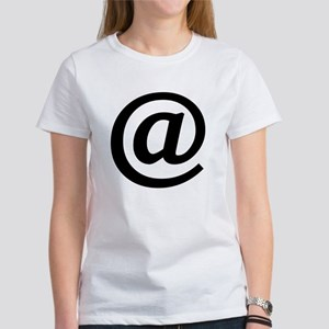 Vintage At Sign Women's T-Shirt
