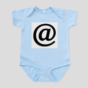 Vintage At Sign Infant Bodysuit