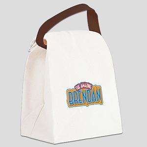 The Amazing Brendan Canvas Lunch Bag