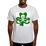 Lucky Leprechaun Pirate Shamrock T-Shirt