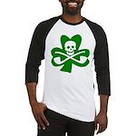 Lucky Leprechaun Pirate Baseball Jersey