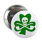 St. Patrick's Day Jolly Roger Pin